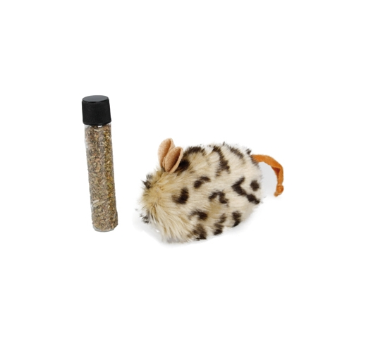 Cat Toy Plush + Catnip 10cm