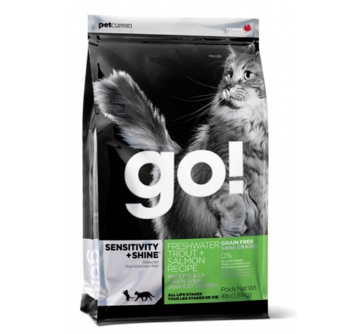 GO! Sensitivity+Shine Holistic Grain Free Complete Cat Food 1,81kg