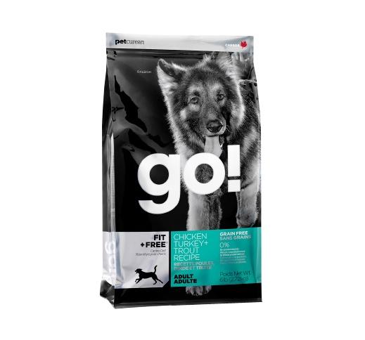 GO! FIT+Free Teraviljavaba Täissööt Koerale 2,72kg
