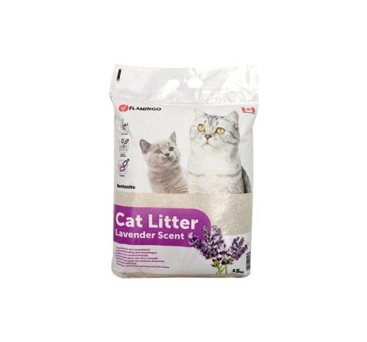 Cat Litter Lavender Scented 15kg