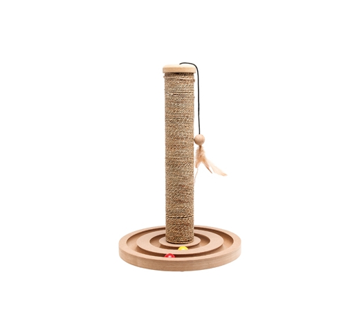 Scratching Pole + Toy 30x44cm