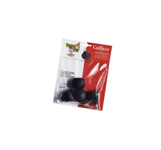 Set of 4 Castors for Gulliver 1/2/3 4pcs