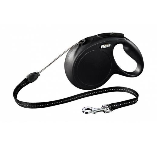 Flexi New Classic XS Black 3m Cord