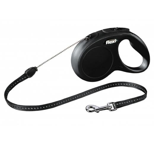 Flexi Classic S Black 5m Cord