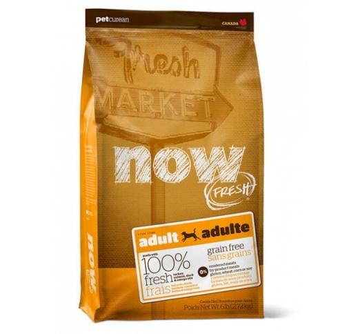 NOW Fresh Teraviljavaba Täissööt Täiskasvanud Koerale 11,3kg