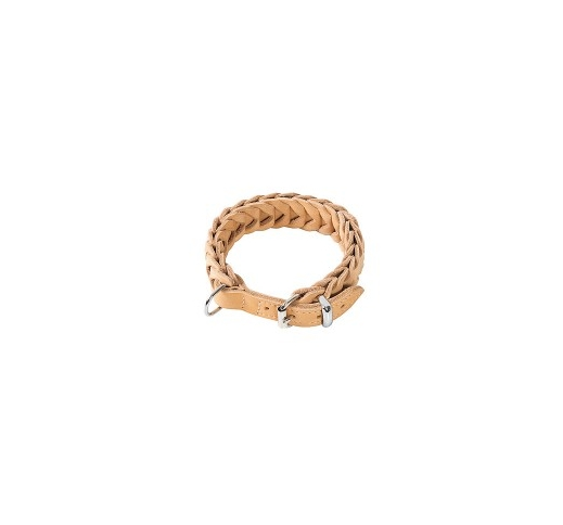 Klin Braided Collar Beige 52-60cm