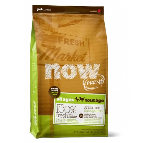 NOW Fresh Teraviljavaba Täissööt Väikest Tõugu Koerale 4/ 2,72kg