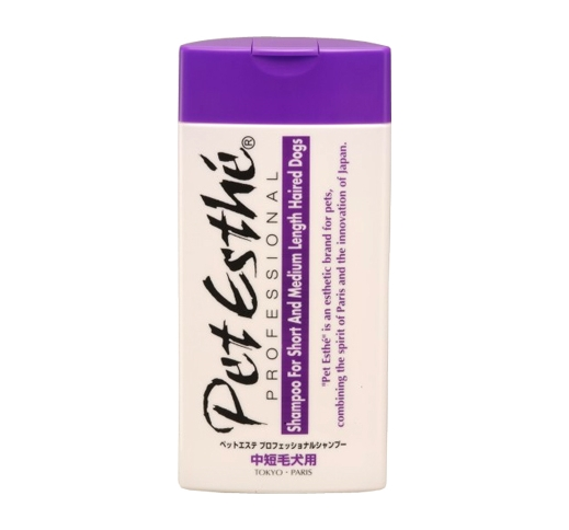 PetEsthé Professional Shampoo for Medium- and Short-Haired Dogs 400ml