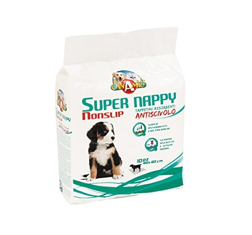 Super Nappy Nonslip 60x60cm 10pcs