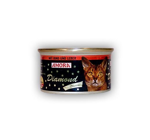 Amora Diamond Paste for Cat with Beef and Liver 85g