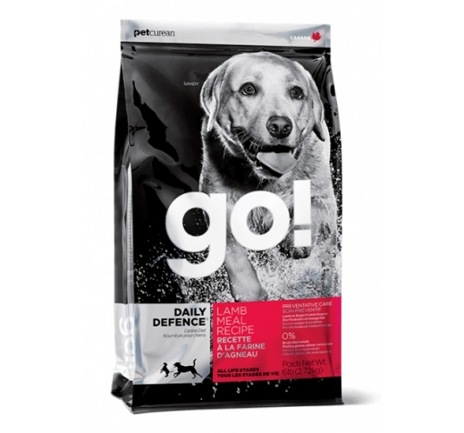 Go! Daily Defence Lamb Meal Holistic Complete Food for Dogs 11,3kg