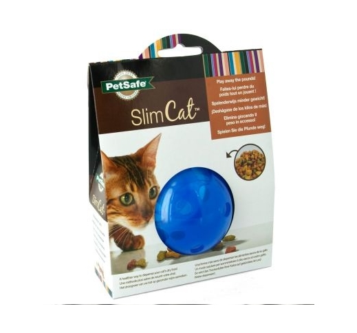 Petsafe SlimCat Treatball Blue