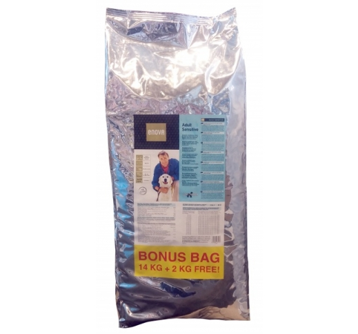 ENOVA Sensitive Kala & Riis BONUS BAG 14+2kg