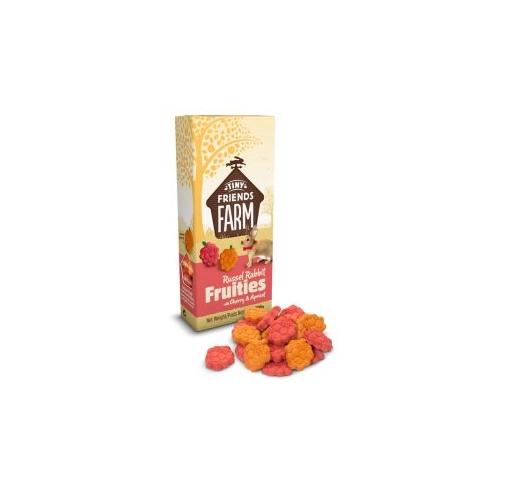 Supreme Russel Fruities Kirsi & Aprikoosiga 120g