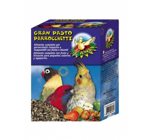 Gran Pasto Bird Food for Cockatiels and Lovebirds 500g