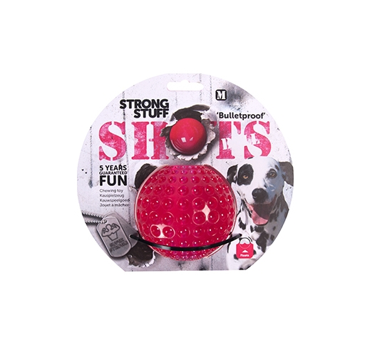 Dog Toy Shots Extra Durable 6cm