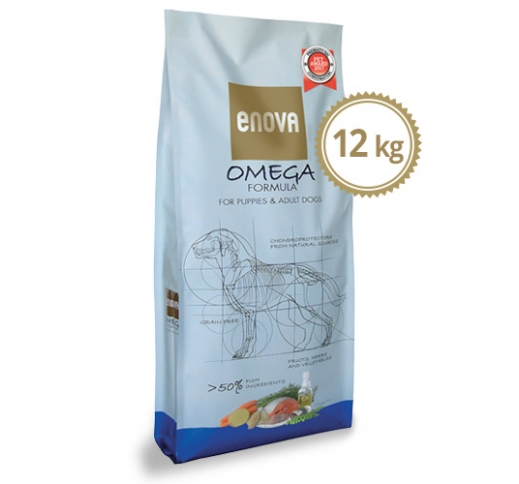 ENOVA Omega Formula Grain Free Dog Food 12kg