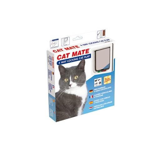 4-way Locking Cat Door 192x200mm