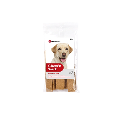 Chew'n Snack Strips with Tripe 12pcs