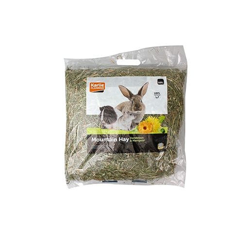 Mountain Hay with Dandelion & Marigold