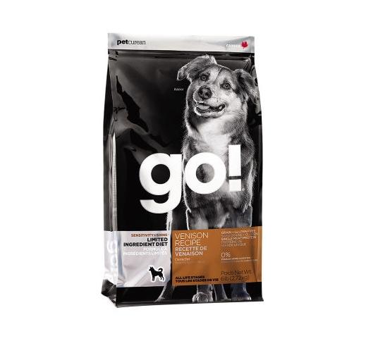 GO! Sensitivity+Shine Täissööt Koerale Hirvelihaga 11,3kg