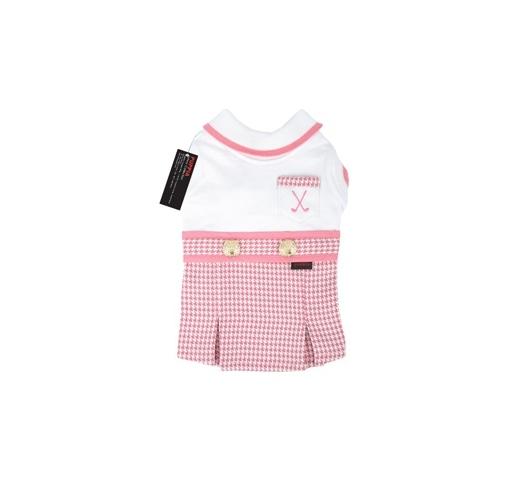 Puppia Luxury Kleit Valge-Roosa S