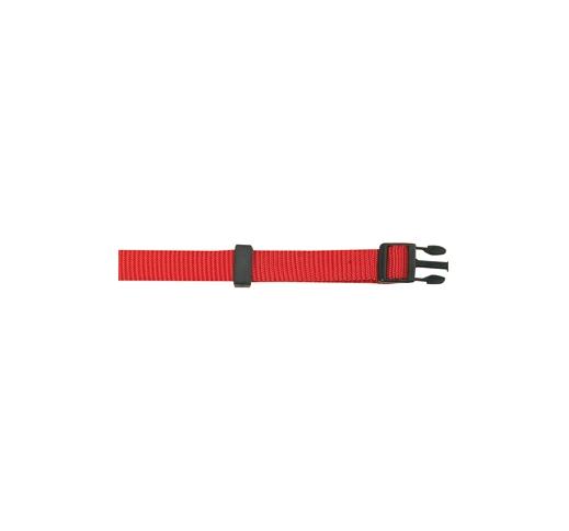 Kaelarihm Nailonist Punane 40-65cm 20mm
