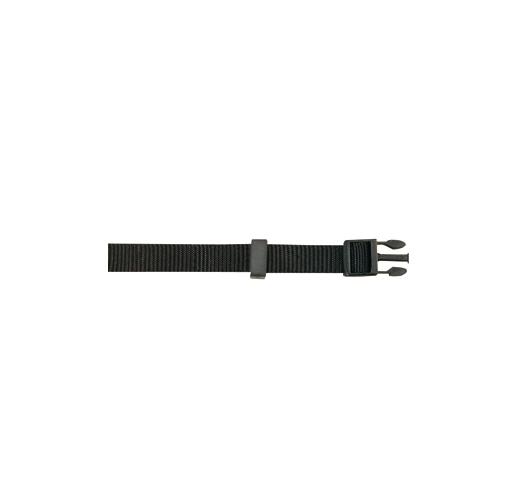 Kaelarihm Nailonist Must 20-30cm 10mm