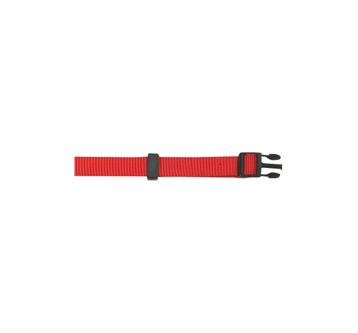 Kaelarihm Nailonist Punane 25-35cm 10mm