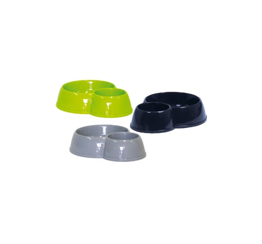 Double Food Bowl Duplex 450/170ml