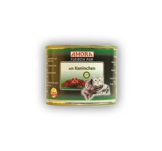 Amora Canned Cat Food (Rabbit) 200g