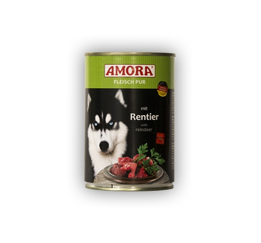 Amora Canned Dog Food (Reindeer) 400g