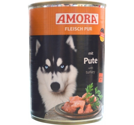 Amora Canned Dog Food (Turkey) 400g