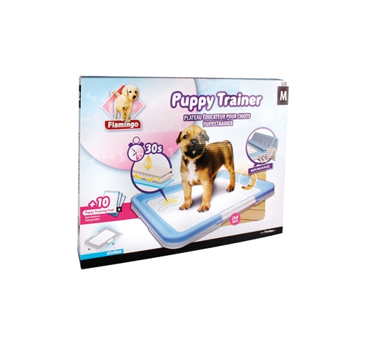 Puppy Training Mat M + Pads 10pcs