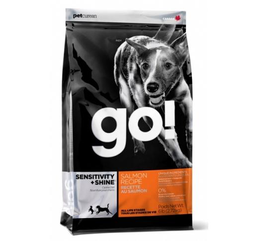 GO! Sensitivity+Shine Täissööt Koerale Lõhekalaga 11,3kg