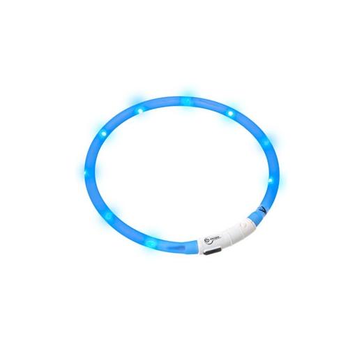 LED Kaelarihm Visio Light Sinine 20-70cm
