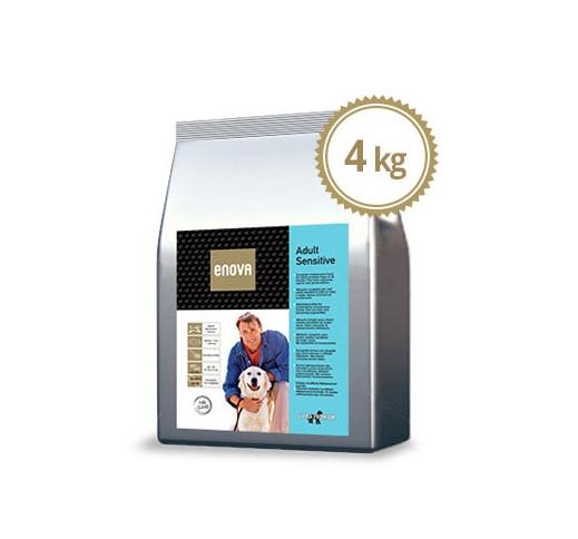 ENOVA Sensitive Kala & Riis Täissööt Koerale 4kg