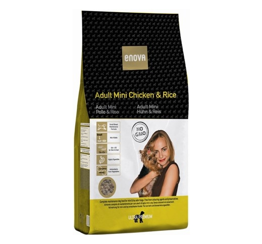 Enova Small Breed Adult Chicken & Rice 1,5kg
