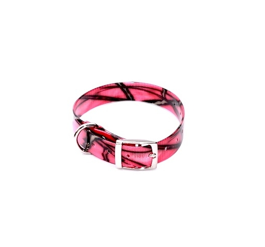 Biothane Collar 25mm/35-45cm Pink
