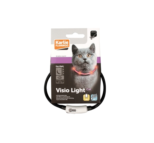 LED Kaelarihm Visio Light Hall 20-35cm