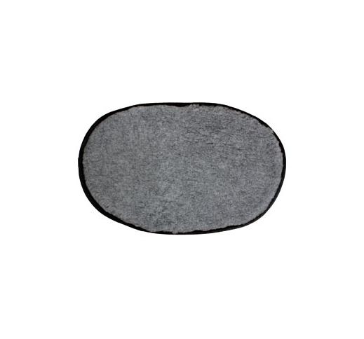 Softbed Oval Antislip Grey 70x44cm