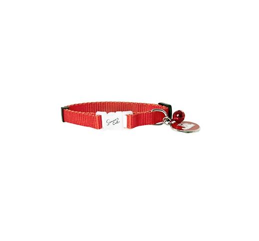 Simon Red Cat Collar