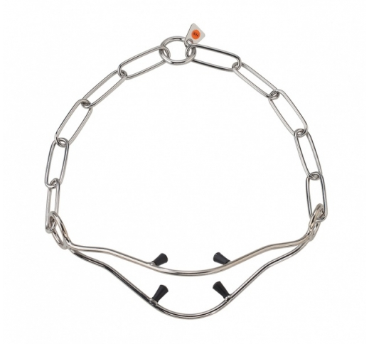 Show Collar for GSD with Spikes 56cm