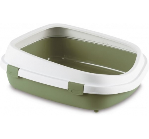 Cat Toilet Queen XL Green 55x71x24,5cm