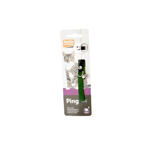 Cat Collar Velvet Green