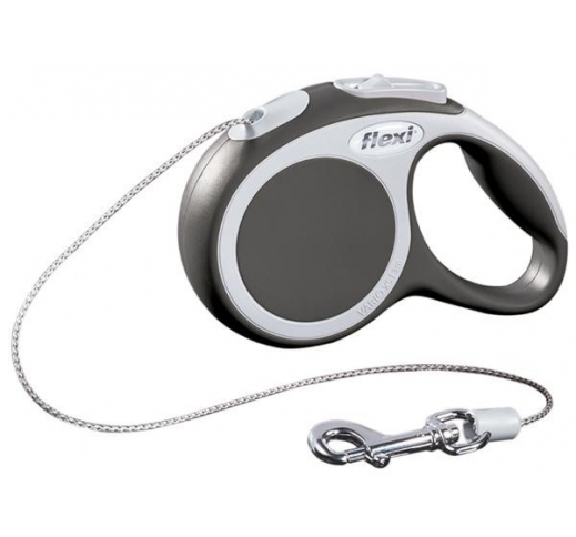 Flexi Vario XS Grey Cord 3m