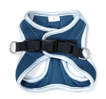 Harness Refelctive Navy S 34-41cm