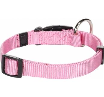 Collar Nylon Pink 30-45cm 15mm