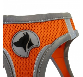 Harness Refelctive Orange L 46-53cm