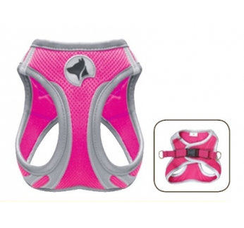 Harness Refelctive Pink L 46-53cm